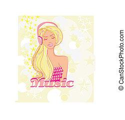 Disco-Mädchen