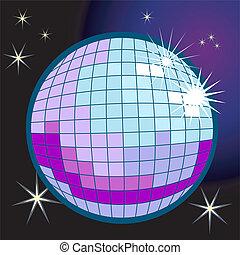 Discoball Illustration.