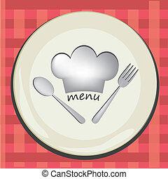 Dishes Menü.