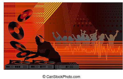 DJ im Club
