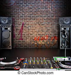 Dj R&B, Rap, Popmusik Hintergrund