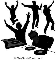 DJ Silhouettes 2