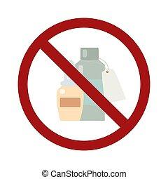 doktoren, bann, medication., medikation, wohnung, verbot, vektor, ohne, flaschen, not, prescription., gegenstand, selbst, zeichen., medizinprodukt, nehmen