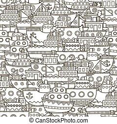 Doodle-Boote nahtlos