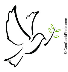 Dove Peace Vektor