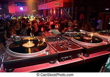 drehscheiben, nachtclub