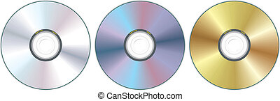 Drei Compact Disc