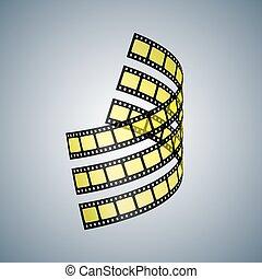 Drei Filmstreifen