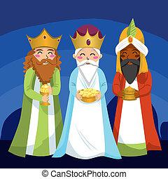Drei weise Männer