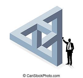 Dreidimensionale Konstruktion