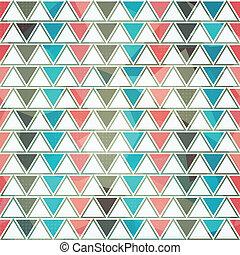 Dreieck, nahtlos