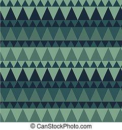 Dreieckige Waldberge nahtlos