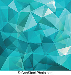 Dreieckshintergrund, Vektor.
