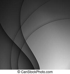Dunkel grauer, eleganter Geschäfts Hintergrund.