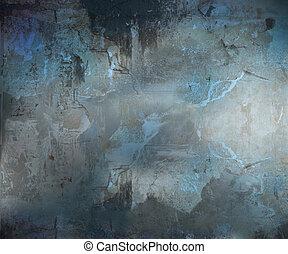 Dunkler Grunge abstrakter Hintergrund