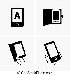 e-book, leser
