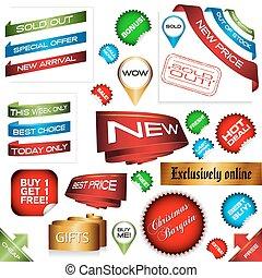 E-Commerce-Schilder