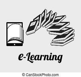 E-Learning Konzept.