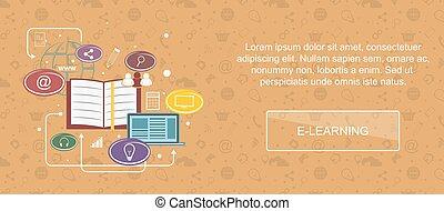 E-Learning Website Banner.