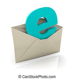 e-mail, briefkuvert