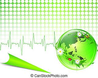 Eco glossy Globus