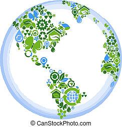 Eco-Konzeptplaneten