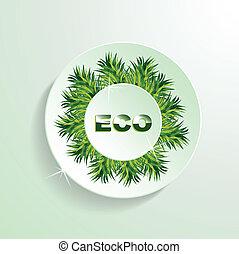 eco, taste, gras, darstellung