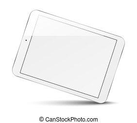 edv, screen., tablette, leer