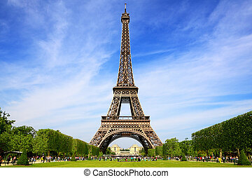 Eiffelturm, ein Symbol für Paris