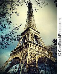Eiffelturm in Paris.