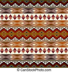 Ein afrikanisches Muster