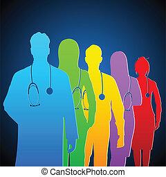Ein Arztteam.