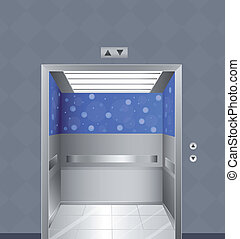 Ein Aufzug