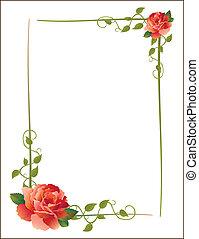Ein Bild mit Rosen