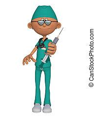 Ein Doktor 3d