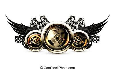 Ein Emblem