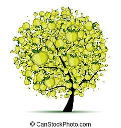 Ein Energieapfelbaum für dein Design