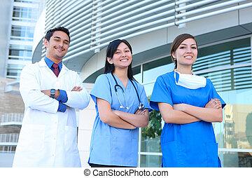 Ein erfolgreiches medizinisches Team