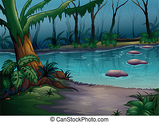 Ein Fluss