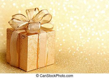 Ein Geschenkkasten