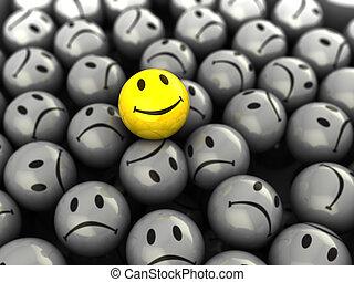 Ein glückliches Gesicht
