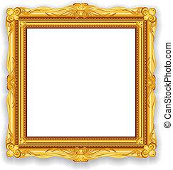 Ein goldener Rahmen