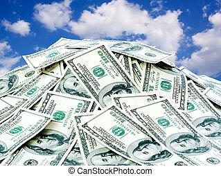 Ein großer Haufen Geld