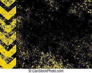 Ein grungy und getragenes Risikostreifen Textur. EPS 8