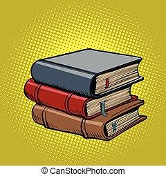Ein Haufen alter Bücher