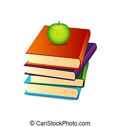 Ein Haufen Bücher