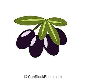 Ein Haufen Oliven