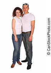 Ein junges Paar