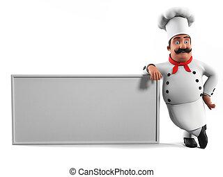 Ein Küchenchef
