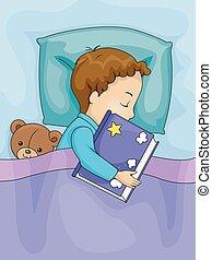 Ein Kinder-Schlafbuch.